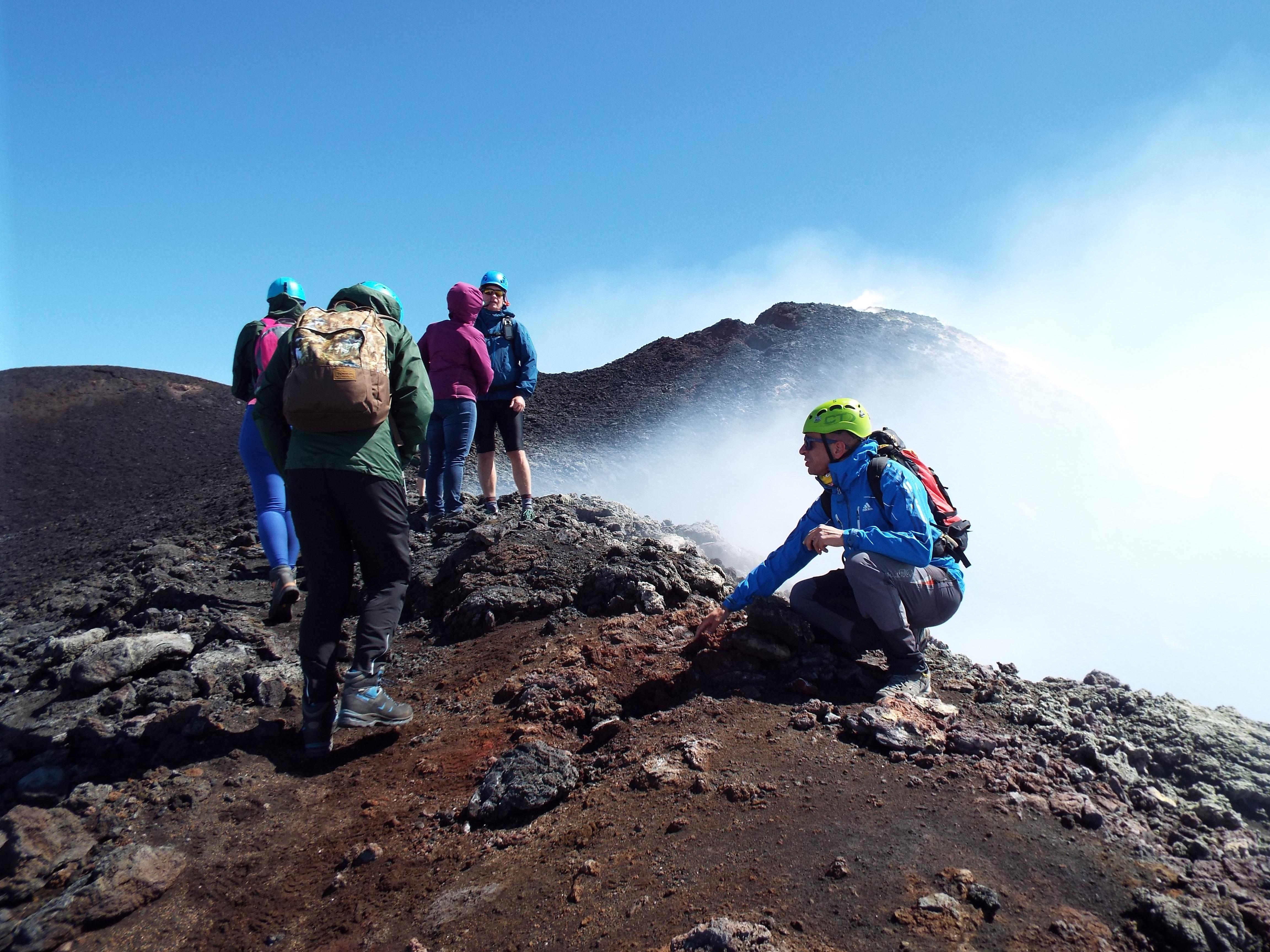 Cratère du sommet de l'Etna