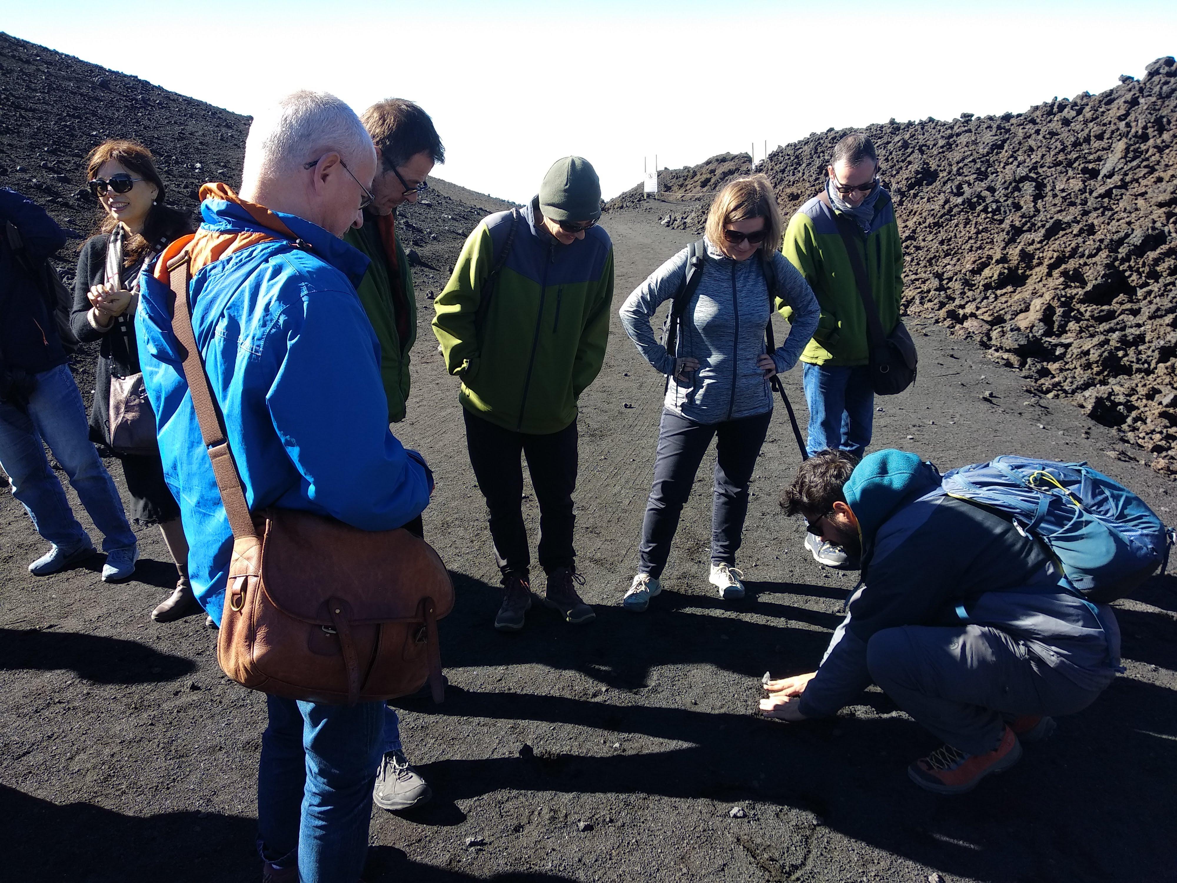 Randonnée Guidée à Etna 3000m.