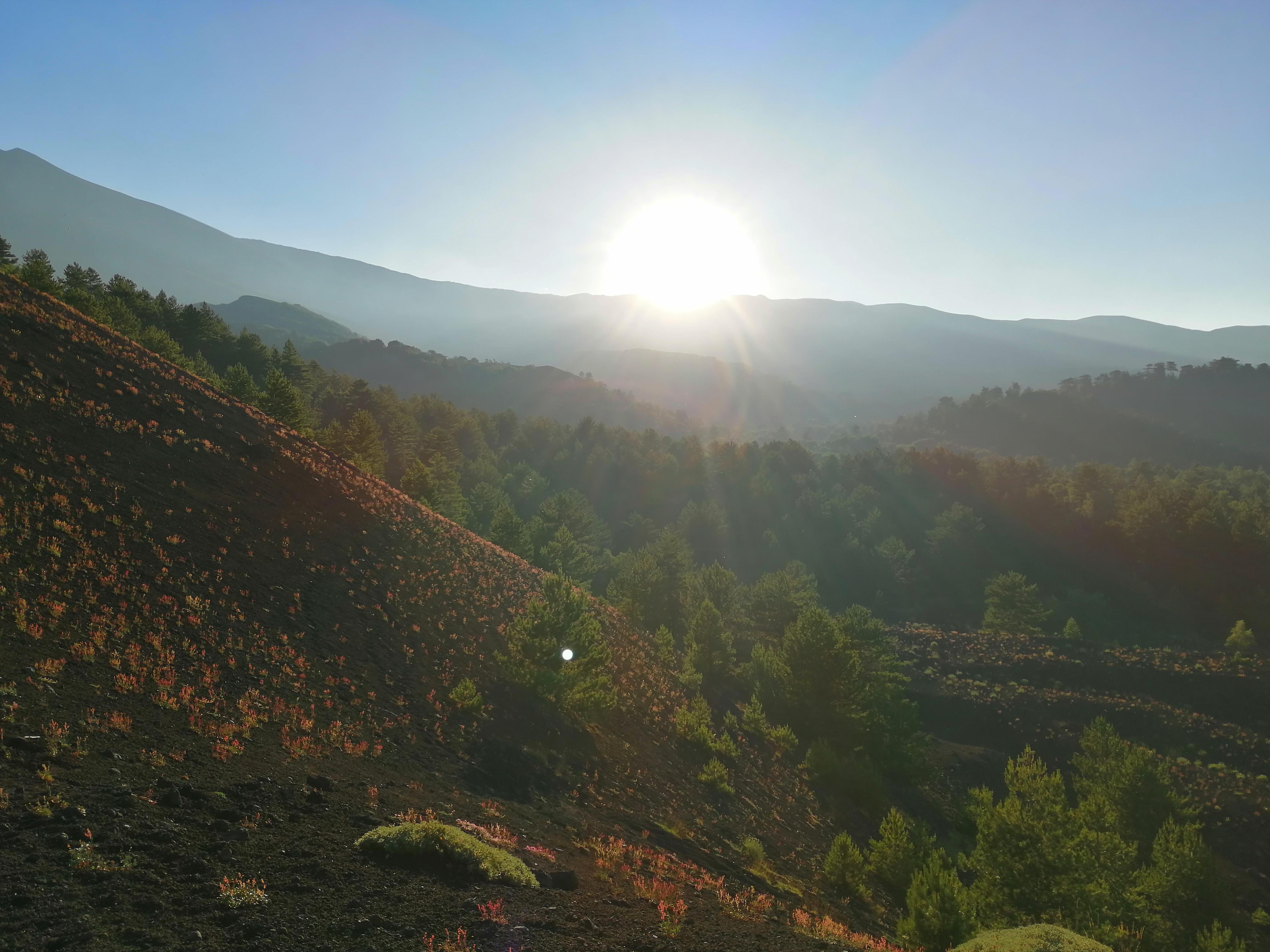 excursión etna con guía a la puesta del sol