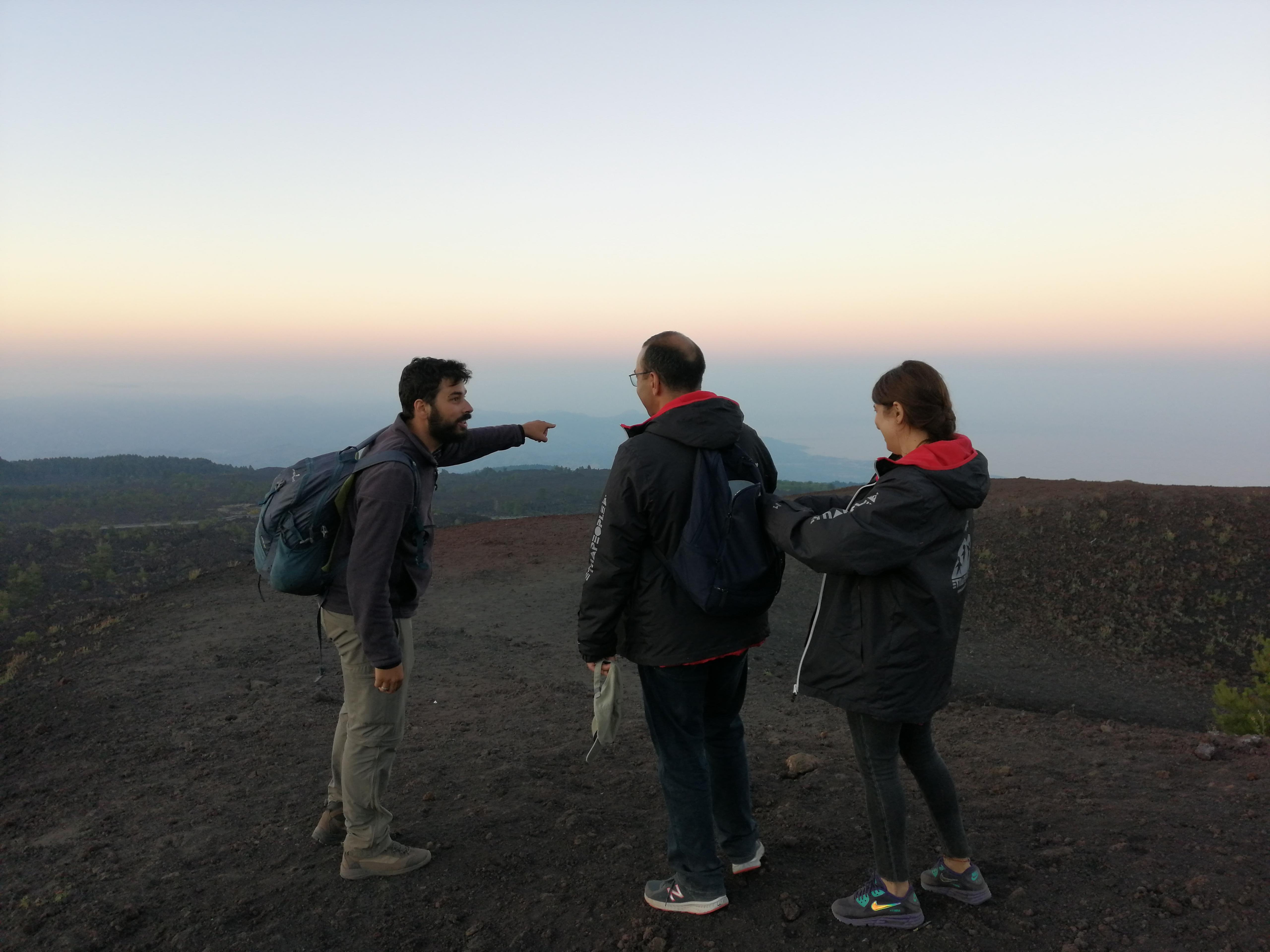 Etna Randonnée avec guide naturaliste