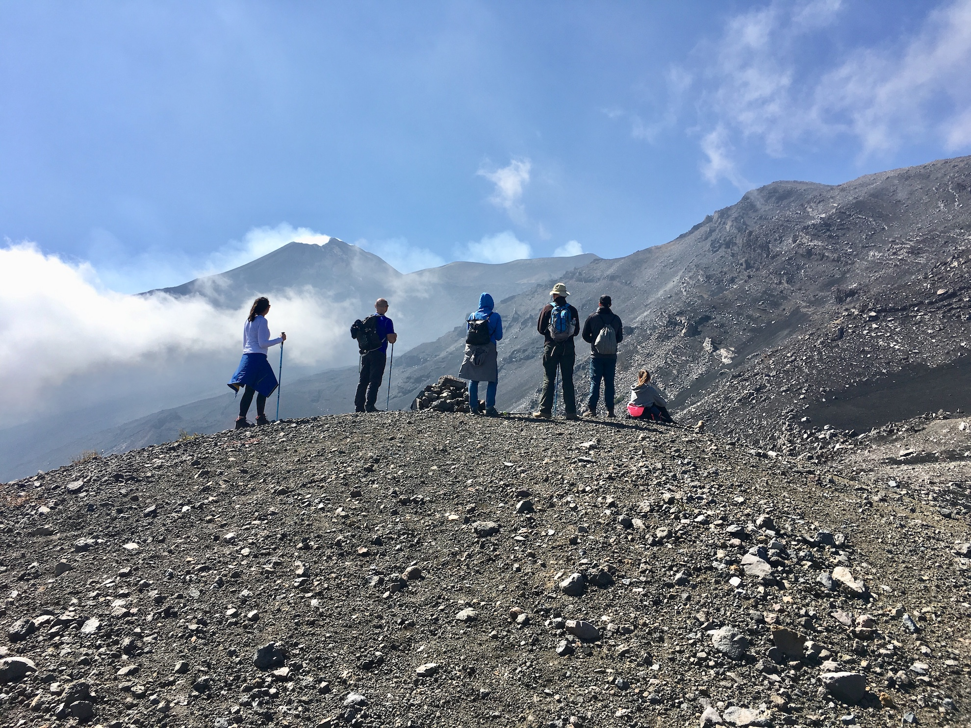 Mount Etna Hike