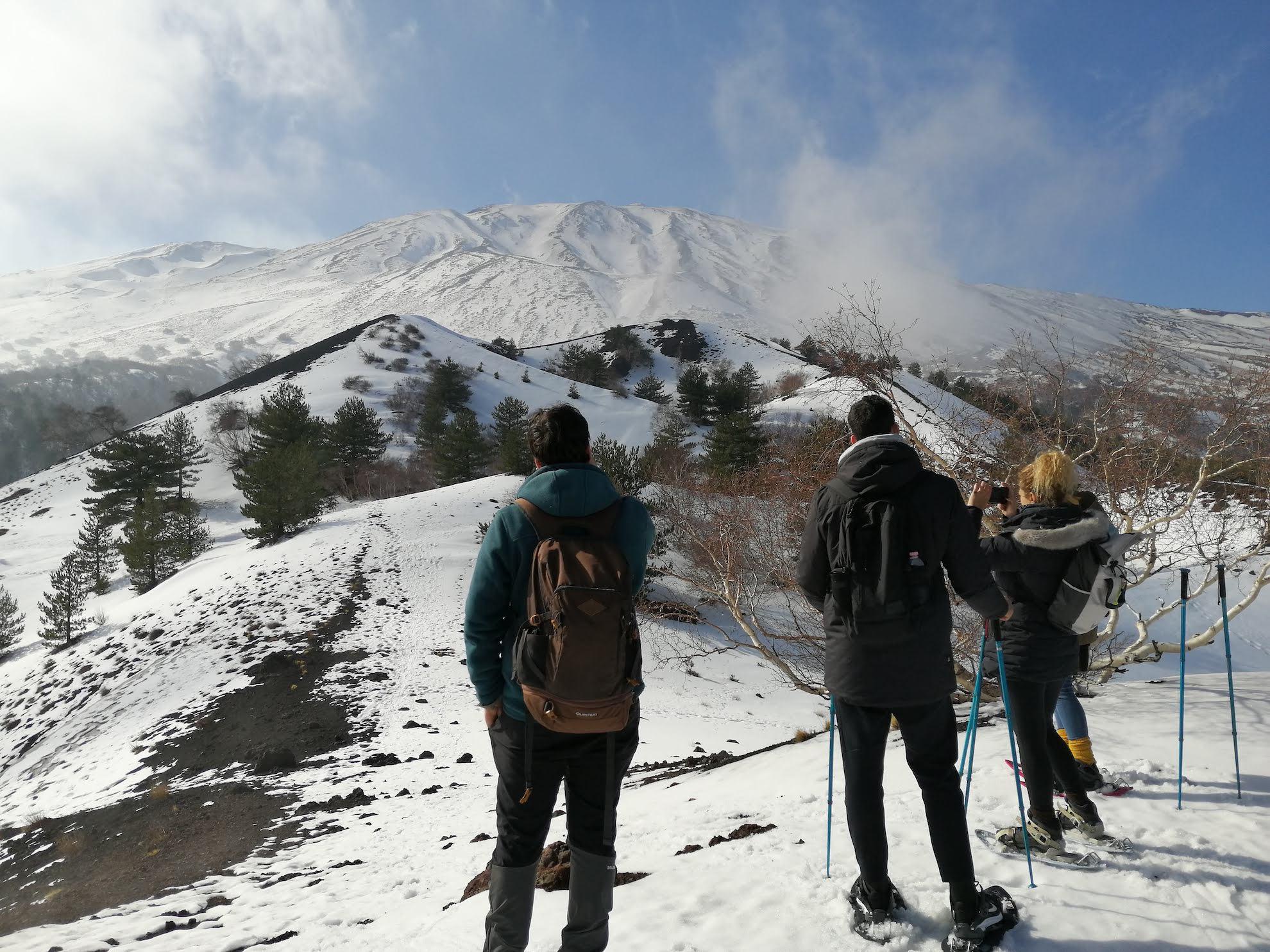 Sports d'hiver sur l'Etna