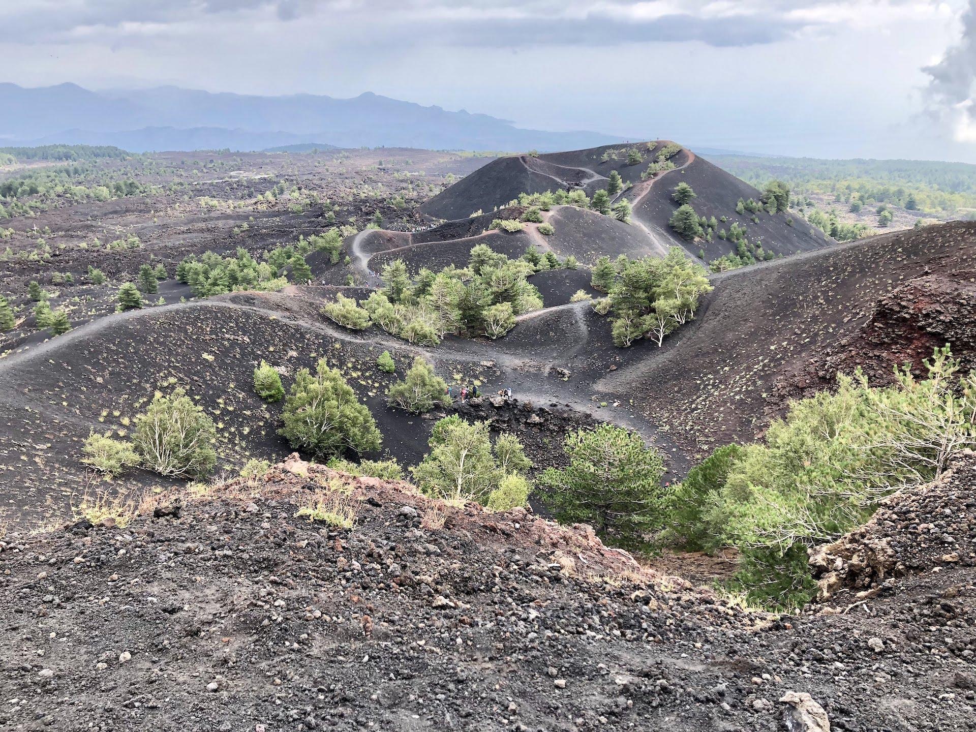 Visitar el Etna en medio día