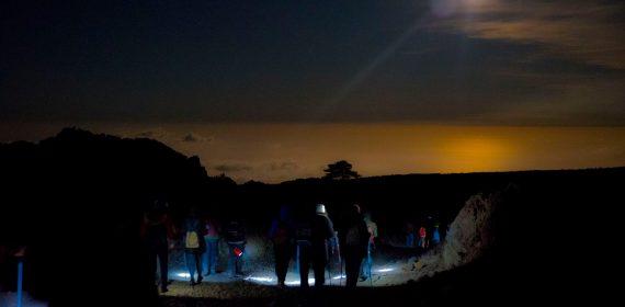 Etna night tour